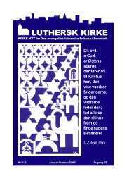 LUTHERSK KIRKE