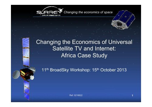 Satellite Tv And Internet >> Satellite Tv And Internet Africa Case Study