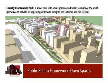 Public Realm Framework Open Spaces