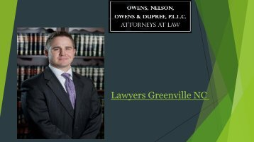 Lawyers Greenville NC