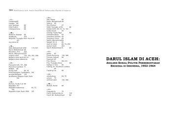 DARUL ISLAM DI ACEH