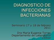 DIAGNOSTICO DE INFECCIONES BACTERIANAS