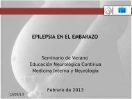 EPILEPSIA EN EL EMBARAZO