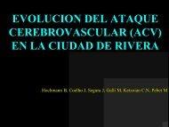EVOLUCION DEL ATAQUE CEREBROVASCULAR (ACV) EN LA CIUDAD DE RIVERA