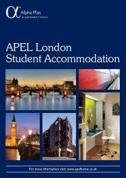 APEL London Student Accommodation