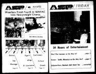 Albany Student Press 1973-02-23 - University at Albany Libraries