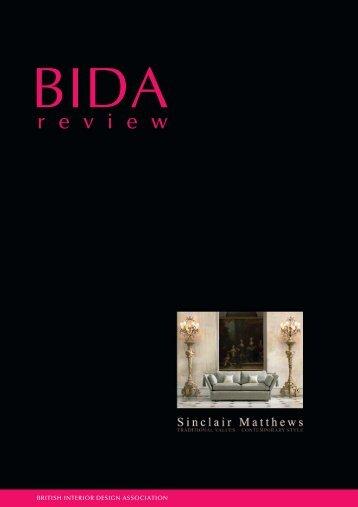 BIDA Review September 2005 - British Institute of Interior Design