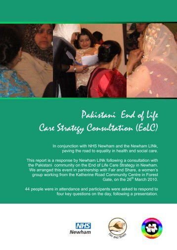 Pakistani End of Life Care Strategy Consultation (EoLC)
