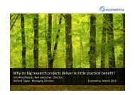 Why do big research projects deliver so little practical benefit?