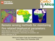 Remote sensing methods for monitoring fire related biophysical parameters