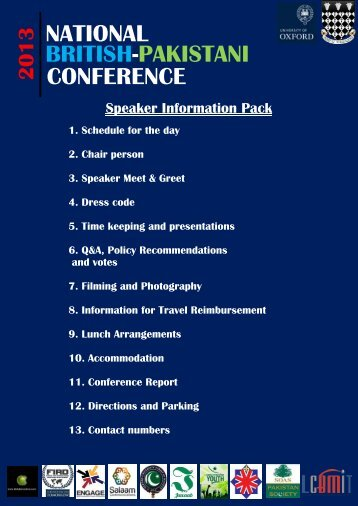 speaker info pack.pdf - University of Oxford