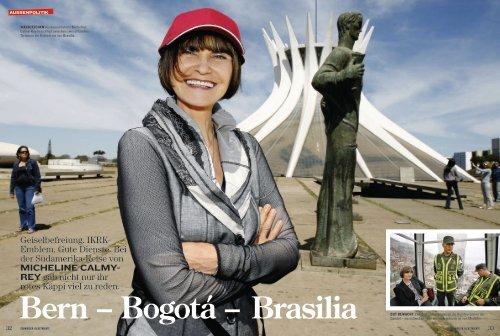 Bern – Bogotá – Brasilia