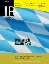IR News 02/2011 - CIRSE.org