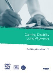 Claiming Disability Living Allowance