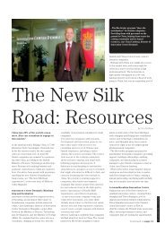 The New Silk Road Resources
