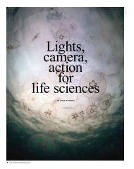 Lights camera action for life sciences
