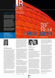 IR news congress - CIRSE.org