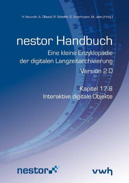 Kapitel 17.8 Interaktive digitale Objekte - nestor