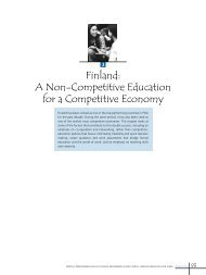 Finland A Non-Competitive Education for a Competitive Economy