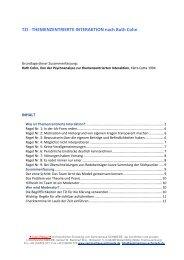 TZI - Themenzentrierte Interaktion nach R - Seminarhaus SCHMIEDE