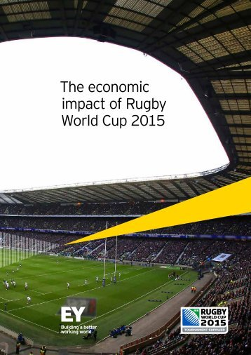 The economic impact of Rugby World Cup 2015