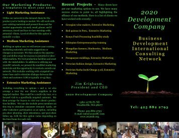 2020 Development Company