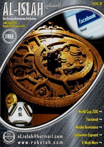 Issue 30 www.rabetah.com July/August 2010