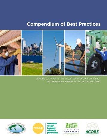 Compendium of Best Practices