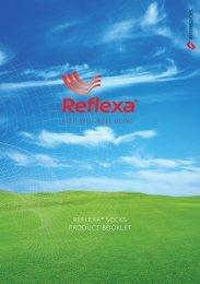 REFLEXA® SOCKS PRODUC T BOOKLE T