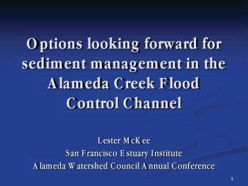 PDF Presentation - Alameda County Resource Conservation District