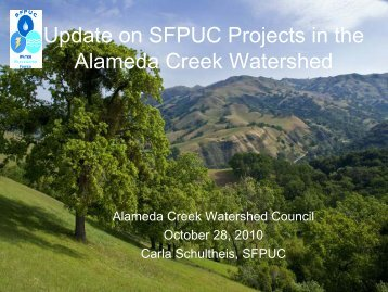 Alameda Creek Watershed