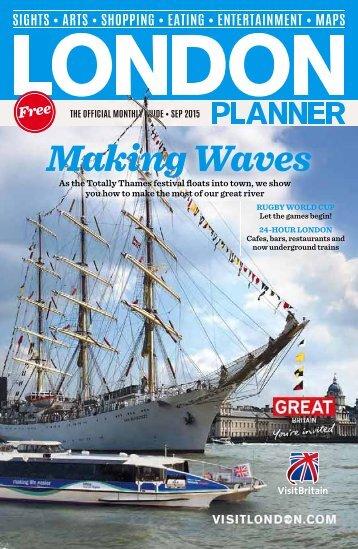 London Planner MAGAZINES - LP SEPTEMBER 15