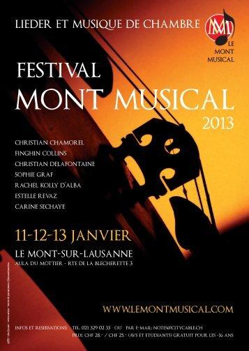 mont musical