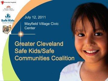 Greater Cleveland Safe Kids/Safe Communities Coalition