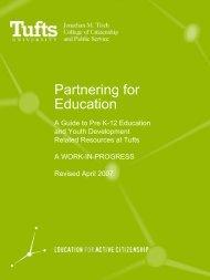 Partnering for Education