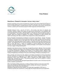 Press Release - Bracco Diagnostics, Inc.
