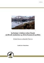 NI-09012 - Náttúrufræðistofnun Íslands