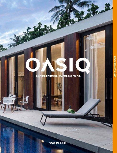 Oasiq Designer Gartenmoebel Katalog 2015