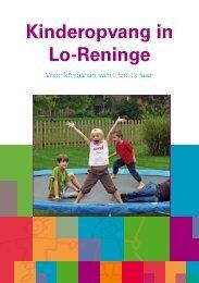 Folder kinderopvang - Lo-Reninge