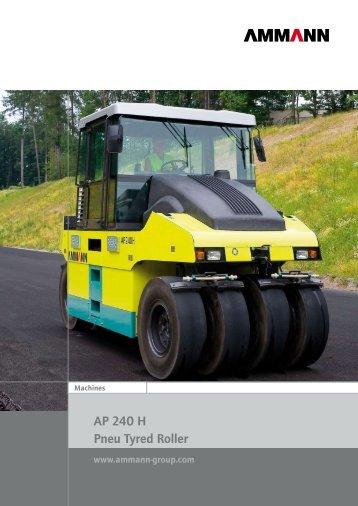 AP 240 H Pneu Tyred Roller