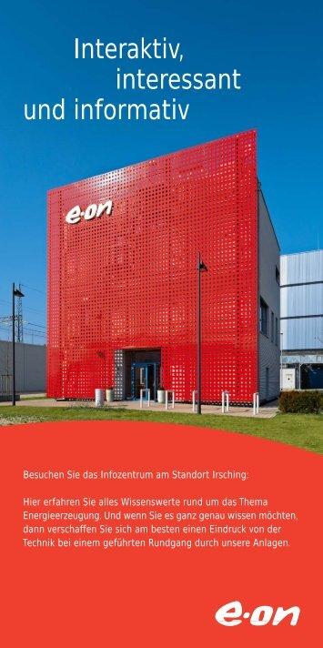 Interaktiv, interessant und informativ - E.ON-Kraftwerk Irsching