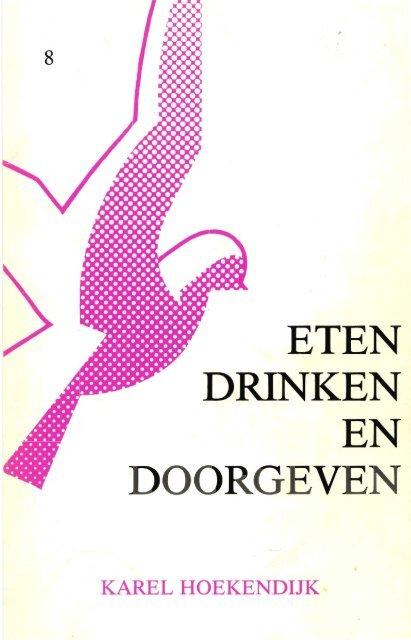 Eten Drinken en Doorgeven