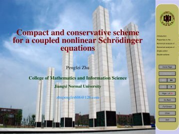 Compact and conservative scheme for a coupled nonlinear Schrödinger equations