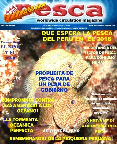 REVISTA PESCA OCTUBRE 2015