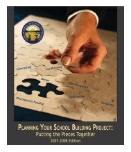 Planning Your School Building Project
