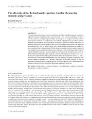 The nth-order stellar hydrodynamic equation - Wiley Online Library
