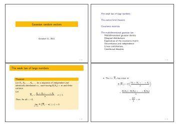 weak law of large numbers pdf