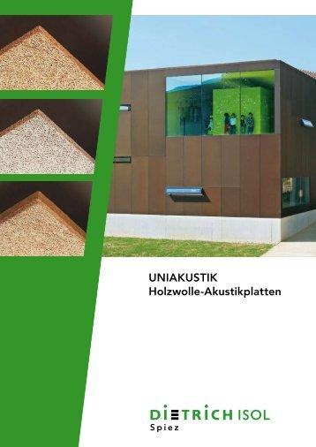 UnIAkUSTIk Holzwolle-Akustikplatten