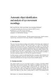 3. Automatic identification of static objects - MMI-Interaktiv
