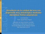 Resultados - Laboratori de Càlcul Numèric - UPC